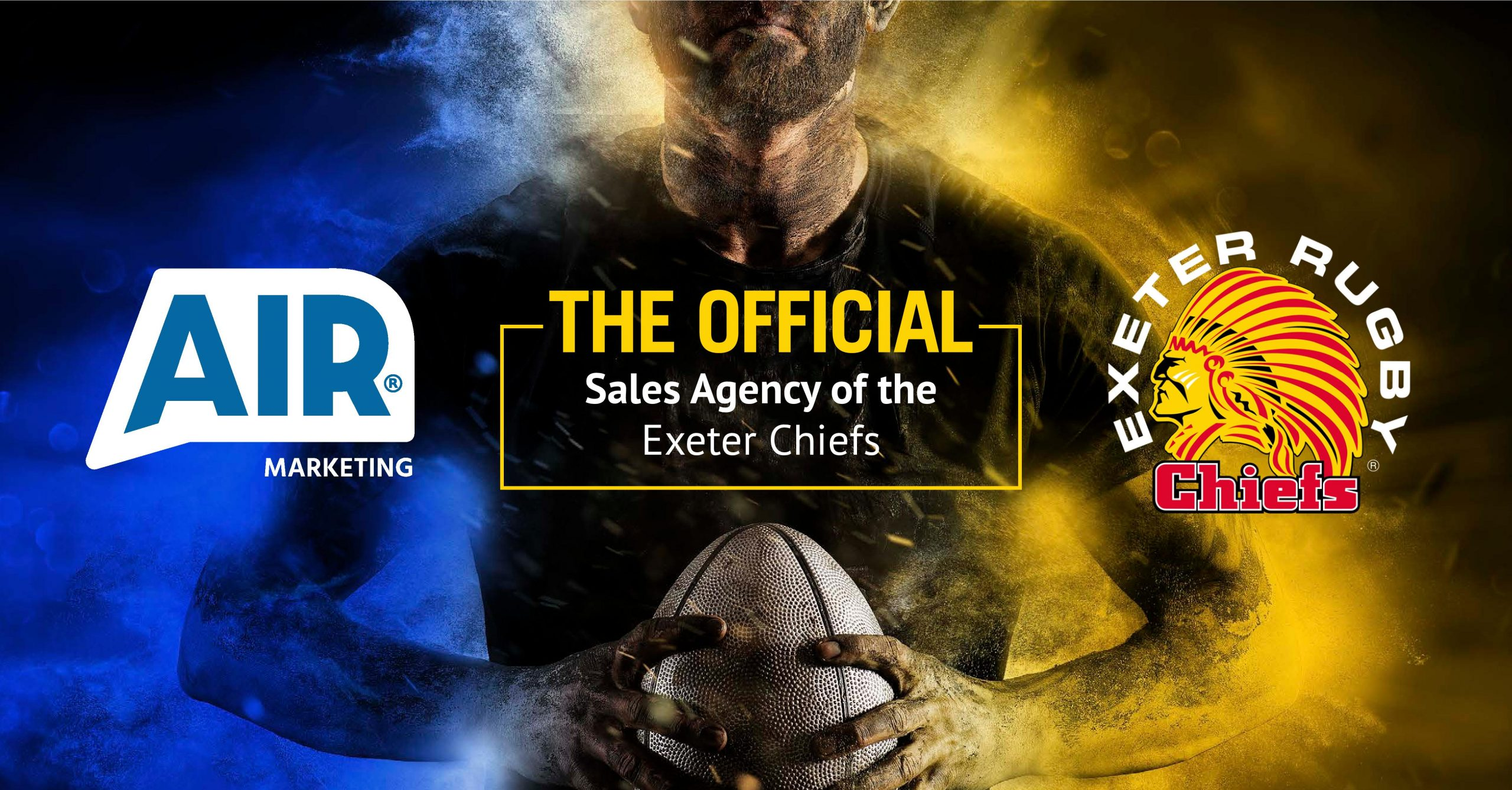 Exeter Chiefs Team Up With Air Marketing