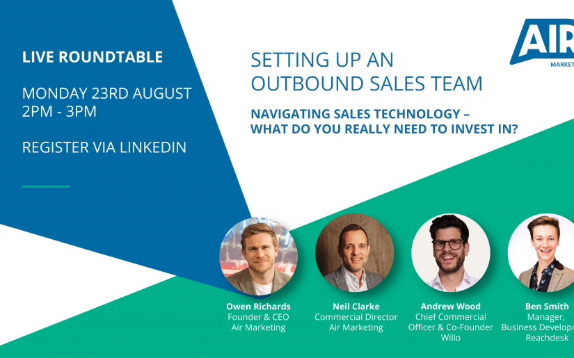 Air LinkedIn Live Roundtable Event 23rd August 2021 1