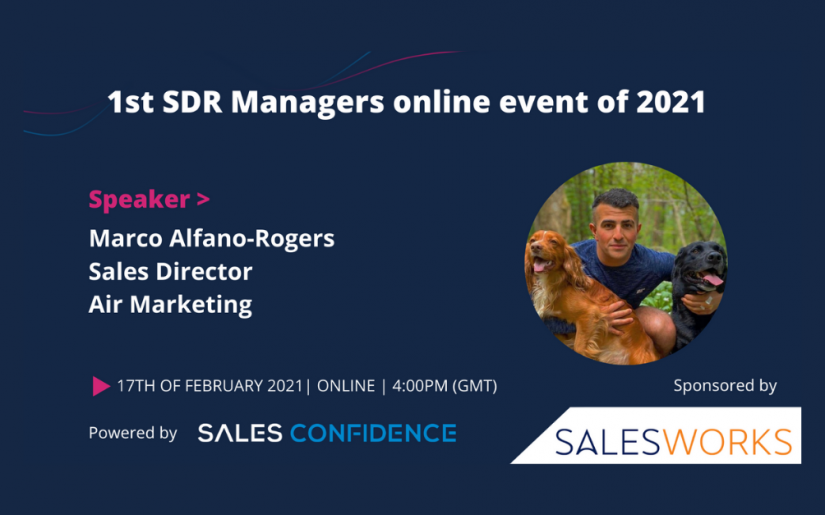 Air Marketing - Marco Alfano-Rogers - Sales Confidence 17th February 2021