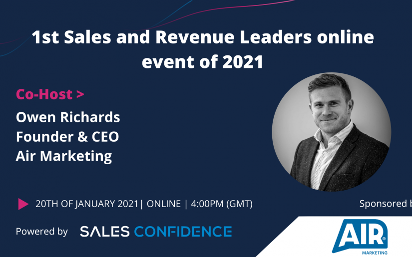 NEW BRAND Air Marketing + Sales Confidence 20th January 2021 - Sales and Revenue Leaders Event (2)