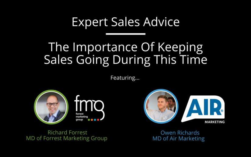 The Importance Of Keeping Sales Going During This Time